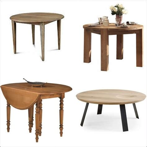 table ronde chene table ronde extensible chene