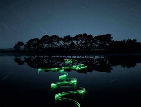 stunning photographs of natural environments painted with