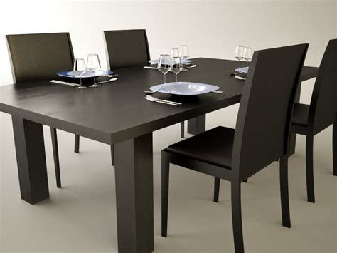 Dining Table Models Dining Table 3d Model