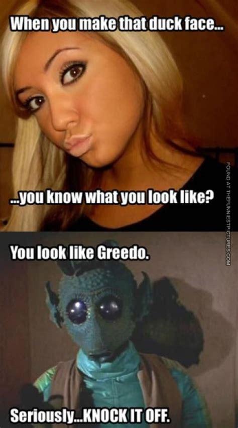 Funny Duck Face Meme - star wars memes