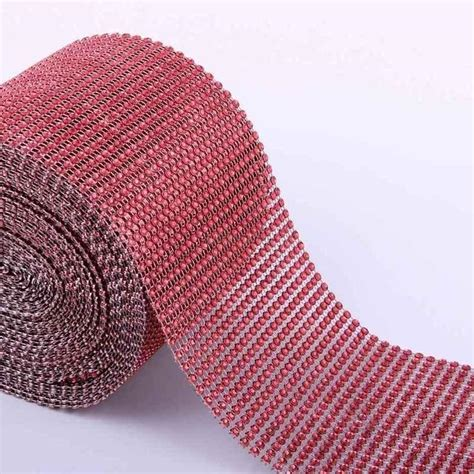 Bling Ribbon vogue mesh wrap roll bling bling