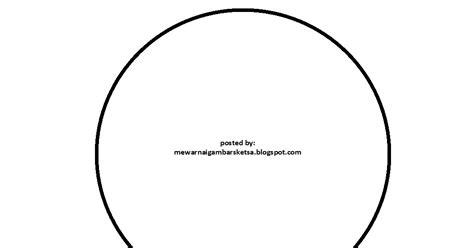 mewarnai gambar mewarnai gambar sketsa bentuk lingkaran