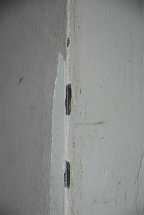 how to mud metal corner bead repairing chipped corner bead drywall repair questions