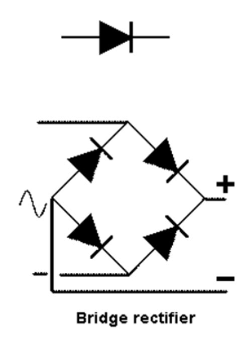 bridge type rectifier diode electronics