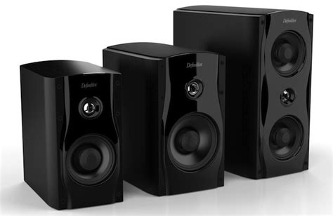 definitive technology launches bookshelf speakers and in