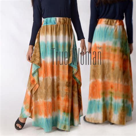 Gamis Kaftan Deswinta Toska 01 rok baju muslim gamis modern gamis muslimah cantik dan