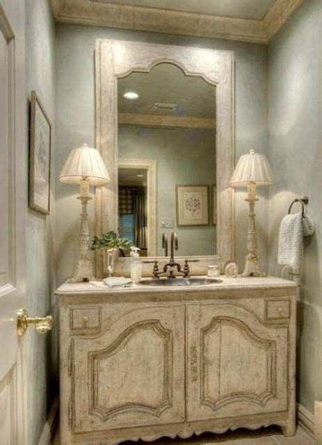 chic provence country chic 29 vintage and shabby chic vanities for your bathroom