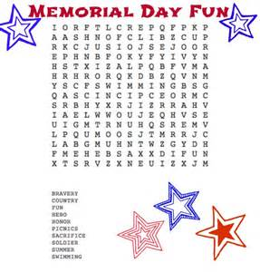 memorial day word search nepa mom