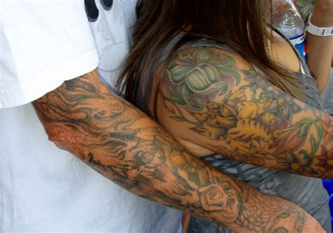 religious couple tattoos 45 splendid couples tattoos creativefan