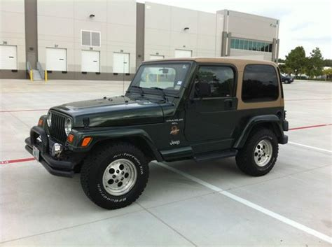 Used 1998 Jeep Wrangler Purchase Used 1998 Jeep Wrangler Sport Utility 2