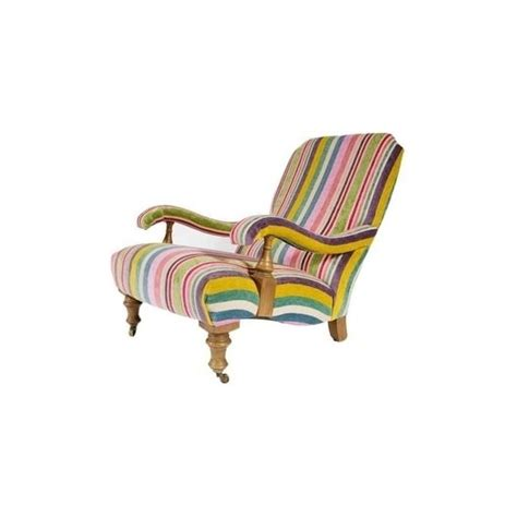 Slipper Armchair by The Collection Striped Sunday Slipper Armchair From Fusion
