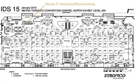 Metro Toronto Convention Centre Floor Plan | events martin c vendryes