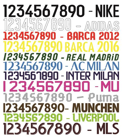Custom Font Nameset Manchester United 2017 2018 gambar pembuatan kostum futsal pesanan uin semarang vendor