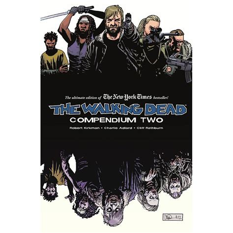 the walking dead compendium two issues 49 96 skybound