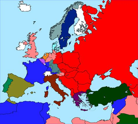 europe map 1945 the new our timeline maps thread page 77 alternate