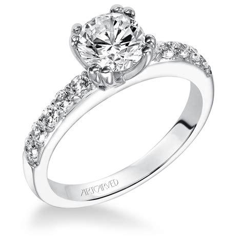 artcarved diamond semi ring 14k 31 v223erw e ben
