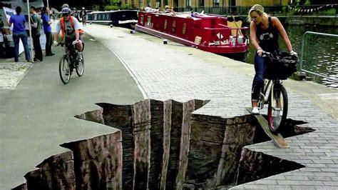 Cara Membuat Gambar 3d Di Jalan | lukisan 3d di jalan illusion episode 3 hd sbl doovi