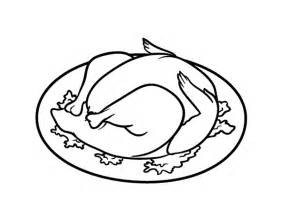 roast chicken coloring page roasted chicken coloring page coloringcrew com
