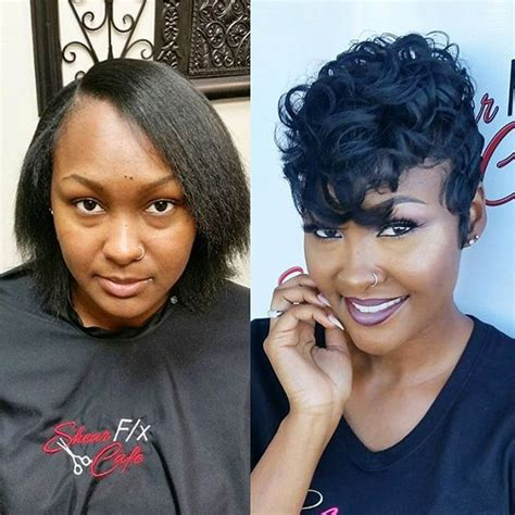 black women short hairstyles with soft waves 323 best images about cute styles fingerwaves soft