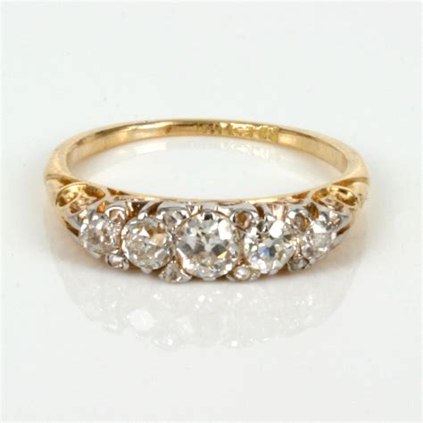 best vintage wedding ring c bertha fashion
