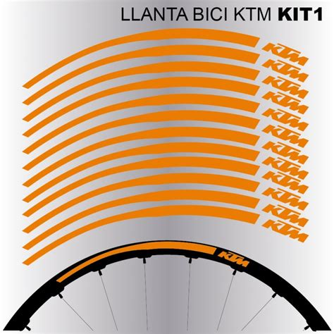Ktm Aufkleber Fahrrad by Ktm Llantas Mtb 26 Quot Kit1 Aufkleber F 252 R Fahrrad Vinyls