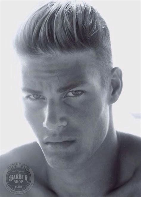 hair cut for on sides slicked back on top slick back fold over cut pinterest sexy boys and