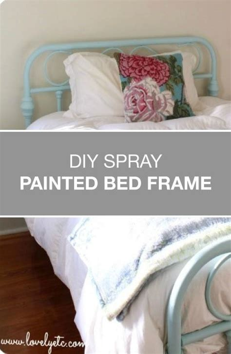 spray painting metal bed frame sometimes all you need for an amazing transformation is a