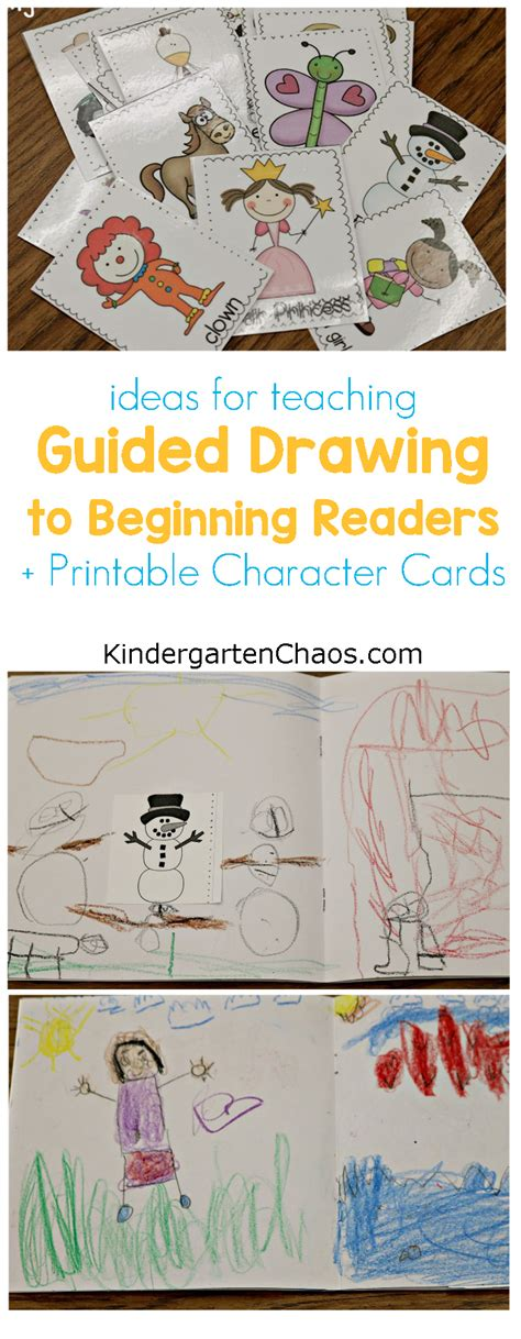 Guided Drawing For Kindergarten