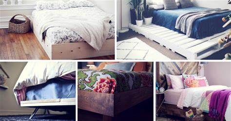 easy diy bed frame projects  upgrade  bedroom