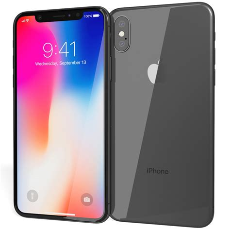 3 Iphone X Models by Realistic Apple Iphone X 3d Model Turbosquid 1202795