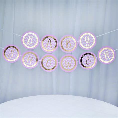 kb pattern works vimpel baby shower rosa guld myperfectday se