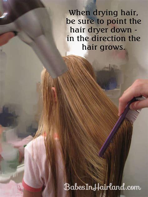 Hair Dryer Tips hair drying tip in hairland