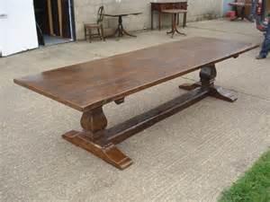 Long Console Tables Antique Furniture Warehouse Large Antique Oak Refectory