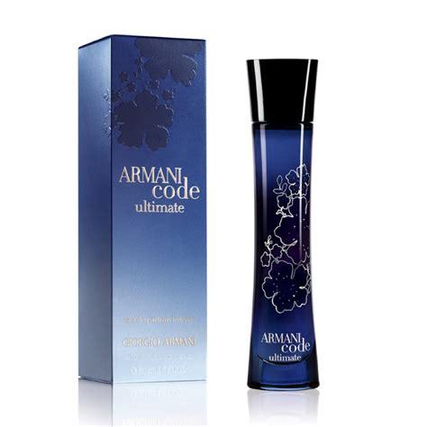 Parfum Pria Black Code giorgio armani code ultimate eau de parfum 75ml