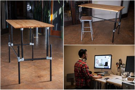 diy adjustable standing desk converter adjustable standing desk converter 89 homemade adjustable