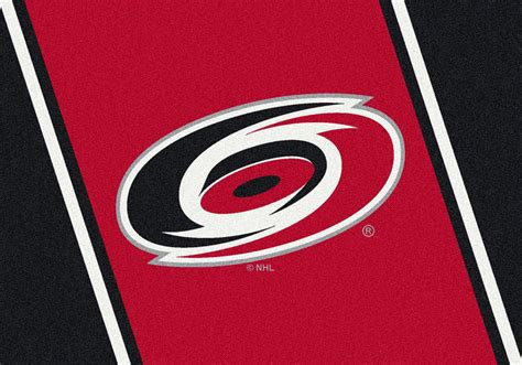 Team Rugs by Milliken Nhl Spirit 01051 Carolina Hurricanes Team Area Rug