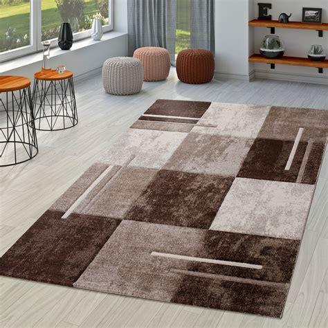 Teppich Wohnzimmer Braun by Moderner Teppich Wohnzimmer Mit Konturenschnitt In