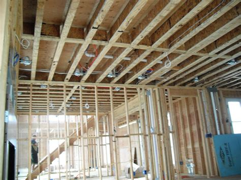 new construction recessed lighting wiring construction
