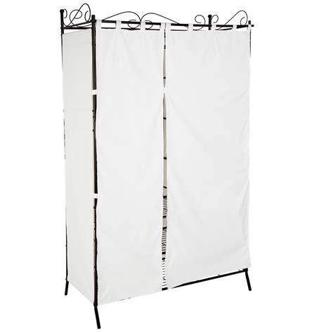 metall vorhang metall garderobenschrank mit vorhang kleiderschrank