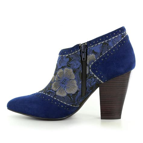 boots blue ruby shoo nicola womens ankle boots blue
