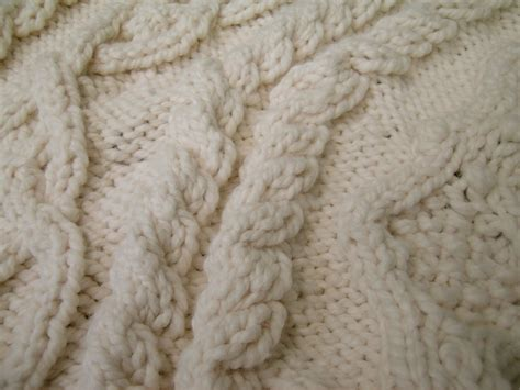 knitted tree skirt handknit holidays aran tree skirt s