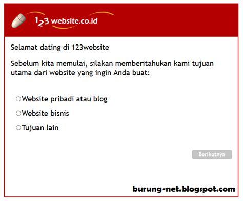 cara membuat web gratis langsung jadi cara membuat website gratis dan cepat hanya 5 menit