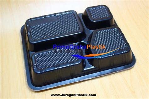 Jual Plastik Kemasan Bento box bento 4 sekat size large home