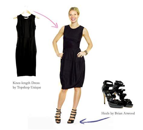 the black dress goop
