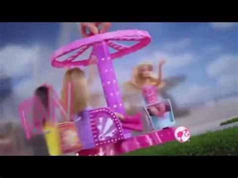 barbie boat ride mattel barbie sisters at the amusement park collection