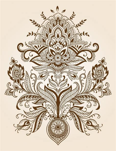 paisley designs paisley henna tattoo design background