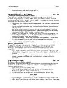 Mortgage Specialist Sle Resume by Matt Chengerian Resume 1