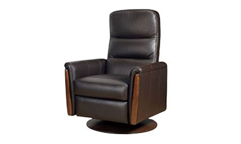 cintique recliner chairs cintique sofas cintique lydia leather swivel recliner