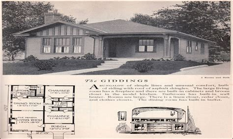 1930s bungalow floor plans american bungalow house plans 1930s bungalow house plans