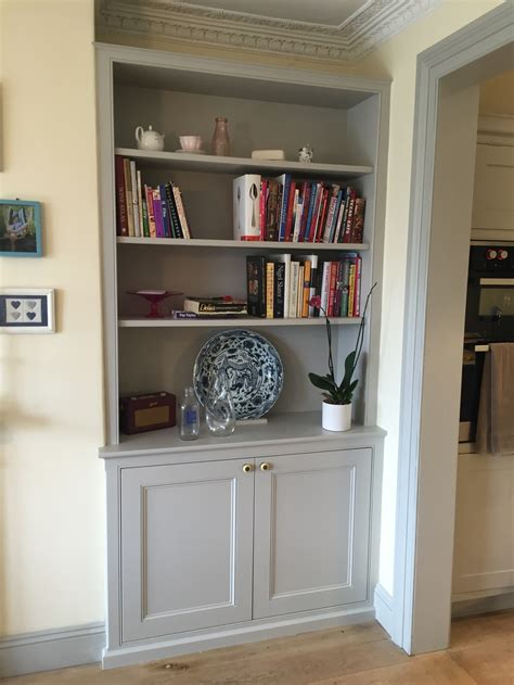 Cupboard Shelving - alcove units oliver hazael bespoke carpentry